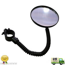 Flexible Bike Bicycle Handlebar Glass Rear View Cycling Cycle Rearview Mirror