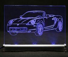 Toyota MR2 W3 LED Leuchtschild Autogravur Leuchtbild