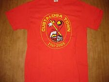 CUSTALOGA TOWN Boy Scout Reservation BSA med T shirt camp logo Pennsylvania 2008