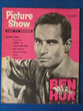 Picture Show Magazine - 30/1/1960 - Charlton Heston in Ben Hur Cover