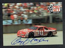 Geoff Bodine #36 signed autograph auto 1991 Pro Set NASCAR Trading Card