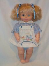 """20"""" One Piece Soft Vinyl Body Softina Baby Doll  By EEGEE 1973"""