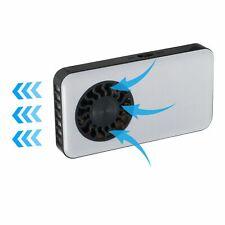 White Pocket Mini Fan Summer Cooler 5V USB Fan Portable Lightweight Rechargable