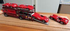 Exoto 1956 Bartoletti 682 Transporter - 4 Ferrarri Race Cars> Great $9.99 Sale!!