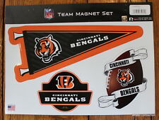 Cincinnati Bengals Team Magnet Set 3 Piece NFL Football 11x8 Car Made in USA C