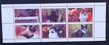 Komi ( Local Post,Russia )-Cats-1998-1M/Sh.-MNH,PLR 227