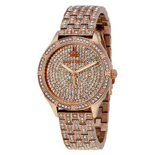 Juicy Couture Arianna Rose Gold-tone Crystal Ladies Watch 1901537