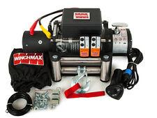 ELECTRIC MILITARY SPEC WINCH 12V 4x4 13000 lb WINCHMAX BRAND