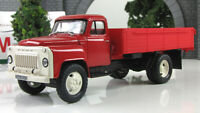 Scale car 1:43, GAZ-53A red