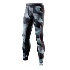 Skins Mens DNAmic Compression Tights Bottoms Pants Trousers Black Blue Grey
