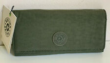 NEW! KIPLING NEW TEDDI SNAP WALLET CLUTCH PURSE IN JADED GREEN RM - SALE