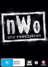 The WWE - NWO - Revolution (DVD, 2016, 3-Disc Set) BRAND NEW SEALED!