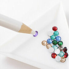 Nail Art Resin Wax Pencil Tool Beads  Rhinestone Gem  Setting Craft Picking