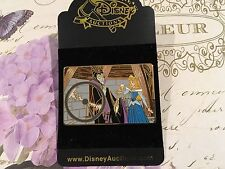 Disney Auctions DA Sleeping Beauty Maleficent Aurora spinning wheel Pin LE