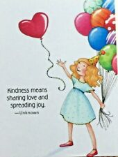 Mary Engelbreit Handmade Magnet-Kindness Means Sharing Love And Spreading Joy