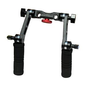 SHOOTVILLA Quick Mount 15mm Arri style Rosette lock handle grip Set