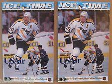 "Pittsburgh Penguins ""Ice Time"" Programs: 12/96 vs. Montreal & 2/1997 vs. Phoenix"