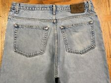 CALVIN KLEIN DOUBLE STONE WASH LOOSE FIT VINTAGE JEANS SIZE 35/32 Tag 34/34 G94u