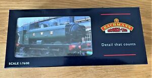 PREOWNED UNUSED BACHMANN CLASS 8750 0-6-0 IN BR LINED BLACK WITH EARLY CREST.
