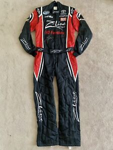 Nascar Race Worn Used Kyle Busch Fire Suit Fontana 2009 WIN Championship Season