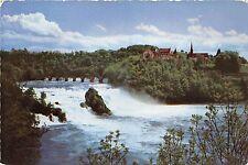 BR21043 Rheinfall bei Neuhausen mit Schloss laufen  switzerland
