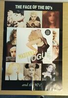 """Madonna w/Poster 12"""" Vinyl Vogue- Sire- W9851TW UK 1990 Single Keep It Together"""