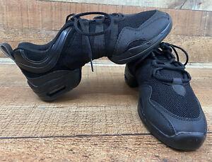 Skazz by Sansha Low Top Hi-Step P40 Black Dance Sneakers, Size 13 Free Shipping!