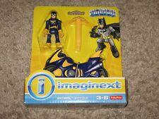 Imaginext DC Super Friends-Les chauves-souris et cycle Brand New *