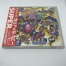 New & Sealed PC Engine Super CD-Rom - Panic Bomber Bomberman - Retro Action Jpn