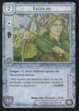 MECCG: Legolas [Ungraded] The Wizards Black Border Middle Earth ICE Hobbit BB