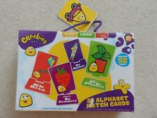 CBeebies 3D Alphabet Match Cards