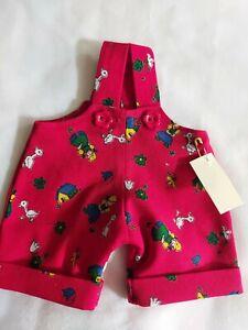 Superbe Pantalon de Crackle, Pour Env. 25-28 CM Oursons, Unikat- Handarbeit,