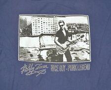 Rare Vintage Billy Zoom Nice Guy Punk Legend X Guitarist Pistol T-Shirt L Large