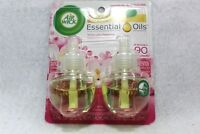 Air Wick Scented Oil 2 Refills white lilac New Sealed