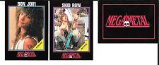 Promoking- 1991 MEGA METAL 3 CARD PROMO/PROTOTYPE SET BON JOVI IMPEL
