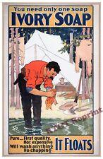 Wall Art - Procter & Gamble Ivory Soap 1898 Advertisement 11x17 inch
