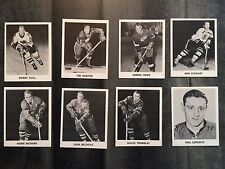 1965-66 Coca Cola Hockey Cards Full Collection (108 Cards)