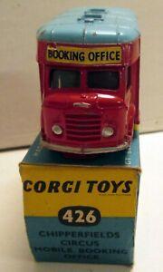 Corgi Toys 426 Karrier Bantam Chipperfields Booking Office,       original