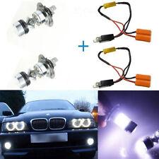 2x WHITE 6000K H7 LED BULB 100W Cree LENS Bulb lamp DRL HEAD FOG LIGHT For BMW