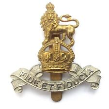 Royal Army Pay Corps Cap Badge Authentic VGC Complete Undamaged
