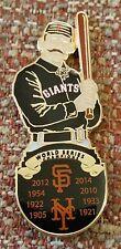 SAN FRANCISCO / NEW YORK GIANTS RETRO WORLD SERIES CHAMPIONS LAPEL PIN