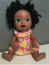 Baby alive Snackin Sara doll African American with box opening