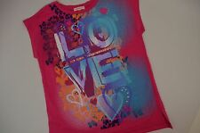 "Little Miss Matched Girls 12 ""Love"" Decal t-shirt top - New"