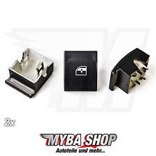 2x Fenster Heber Reparatur Knopf Schalter für Opel Vauxhall Links/Rechts NEU