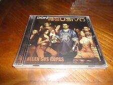 Chicano Rap CD Don Abusivo - Alcen Sus Copas - El Pecador Mariana G - West Coast