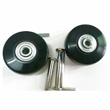 2 Sets of Luggage Suitcase Replacement Wheels Axles Deluxe Repair Tool 50*2 M3W4