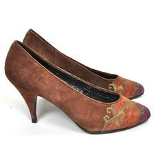 Suede 1970s Vintage Shoes for Women