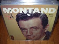YVES MONTAND songs of paris ( world music ) france