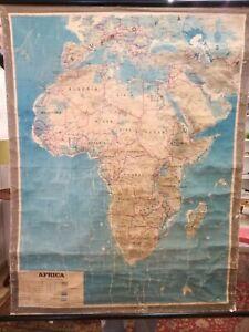 Carta geografica scolastica Africa
