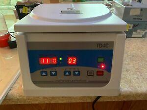GLTL TD4C Beauty/lab Centrifuge, Digital Bench-top Centrifuge, 100-4000rpm